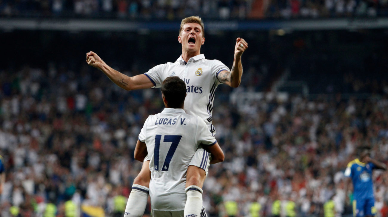 Week 2 (Real Madrid 2-1 Celta)