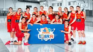 La Selección femenina de baloncesto