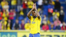 Boateng durante el partido de Liga entre Las Palmas y el Barcelona