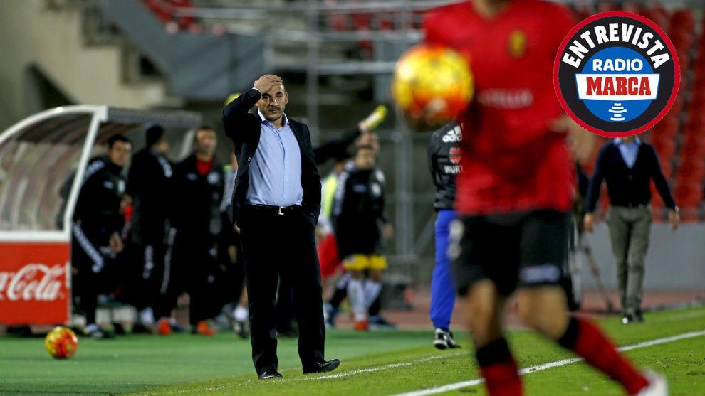 Albert 'Chapi' Ferrer durante un partido con el Mallorca