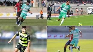 Cisneros, Aguirre, Antuna y Lara representarán a Santos con el Tri...