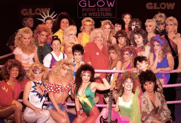 Las luchadoras de Glow, programa de televisión de los años ochenta