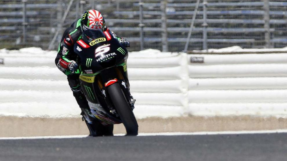 Zarco en los últimos test de MotoGP