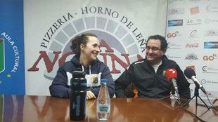 El técnico del Aula Cultural Valladolid, en una reciente rueda de...