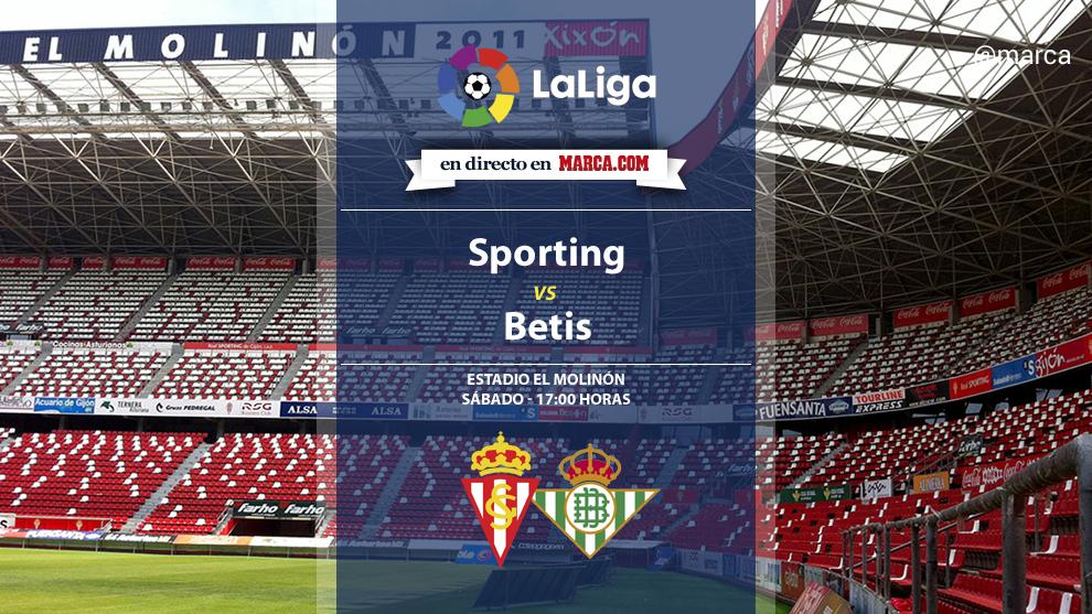 Sporting vs Betis en directo