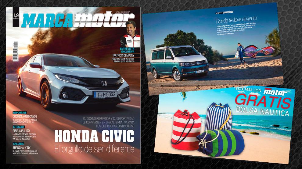 Llévate una bolsa náutica gratis con la revista Marca motor de junio ...