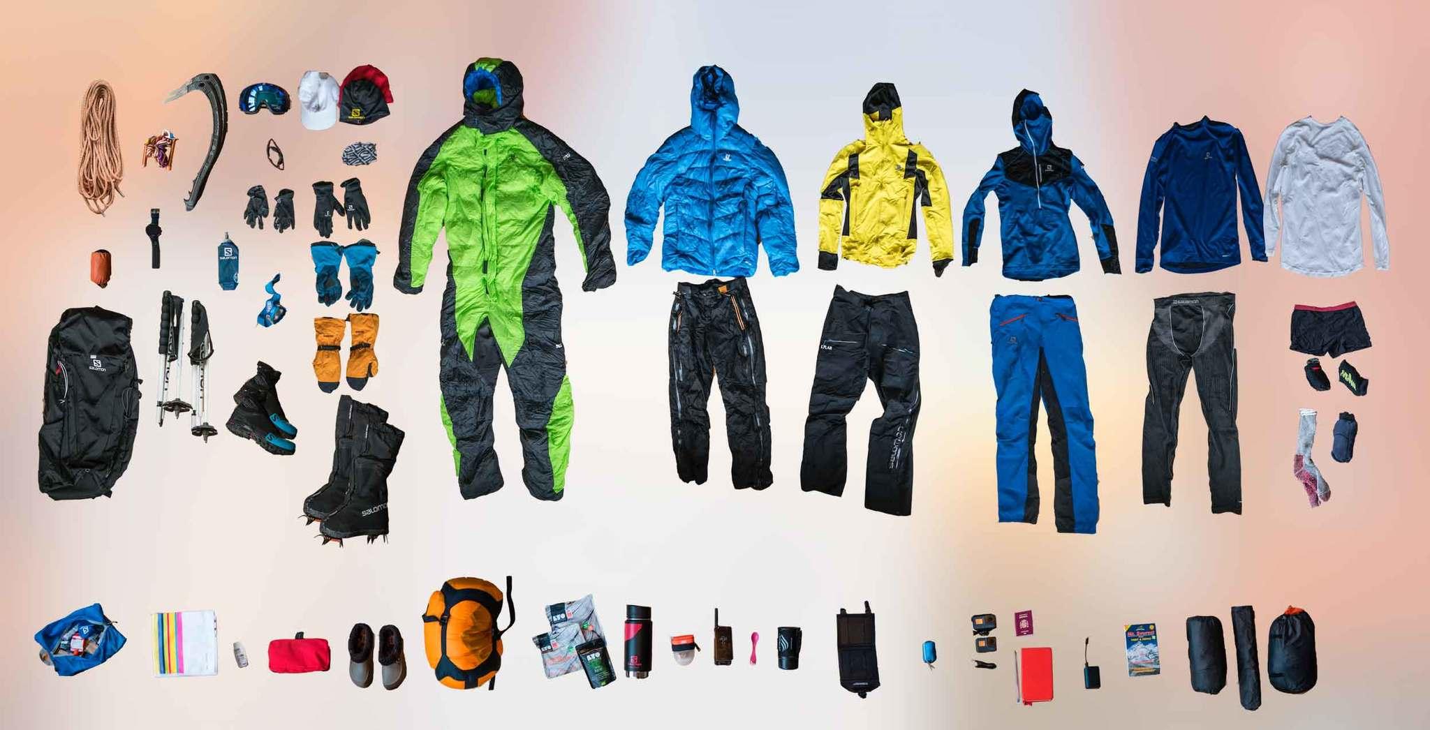 El equipo con el que Kilian Jornet afrontó el reto de Everest