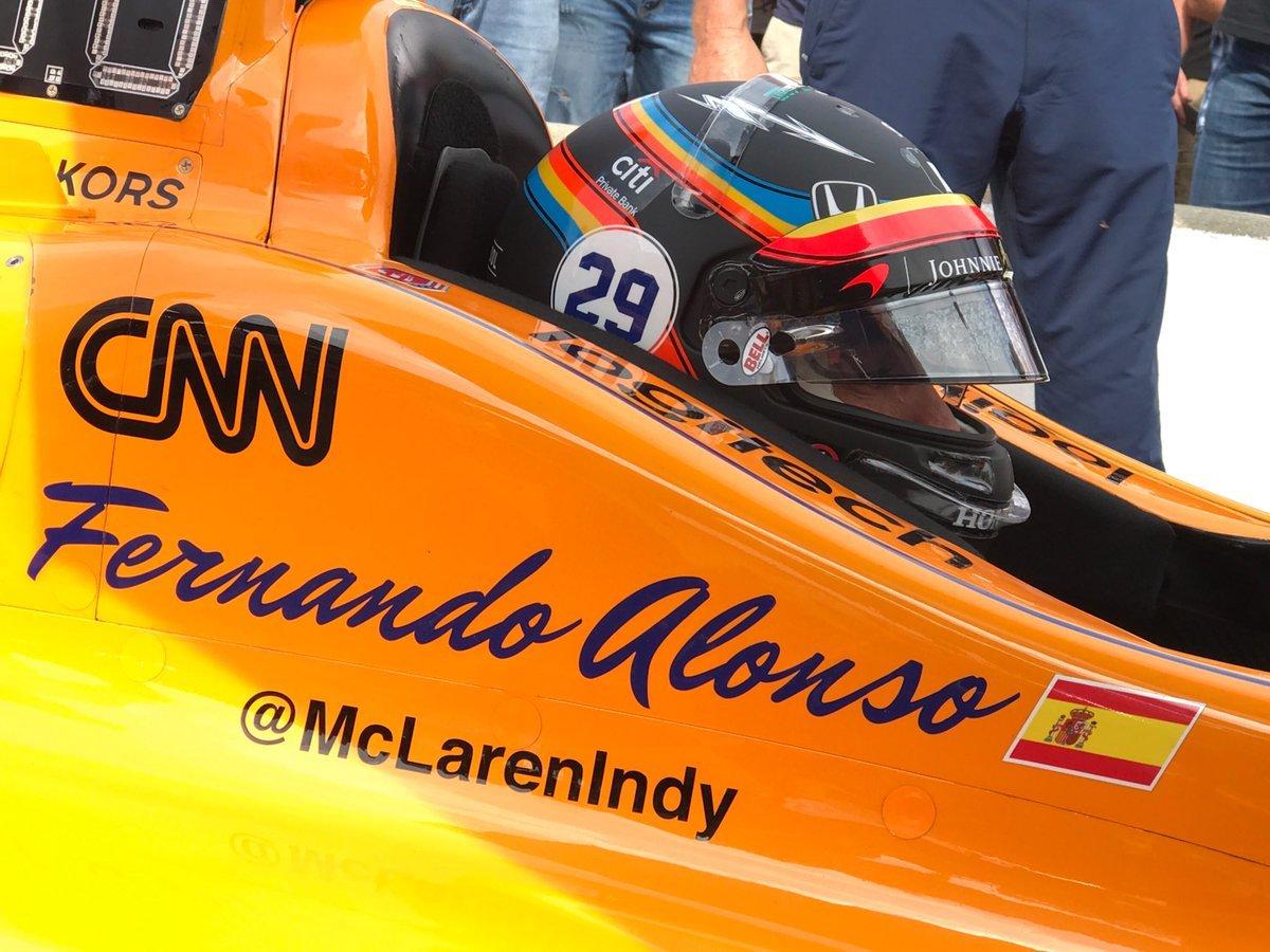 Alonso finaliza séptimo y luchará por la pole en las 500 millas de ...