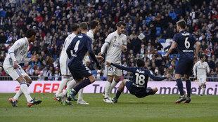 Partido de Liga entre Real Madrid y Granada