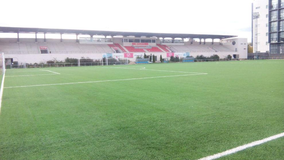 Estadio de Matapiñoneras de San Sebastián de los Reyes.