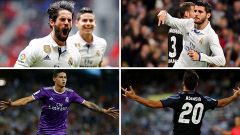10 golazos del Madrid en la Liga: ¿cuál de todos te parece el mejor?