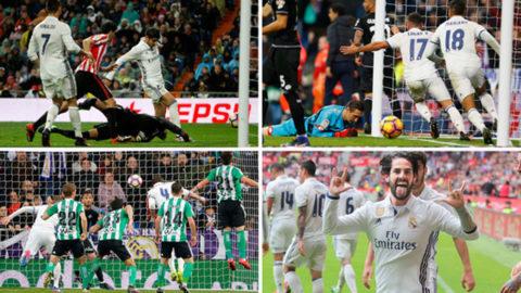 Los 22 goles del campeón de Liga en los diez minutos finales