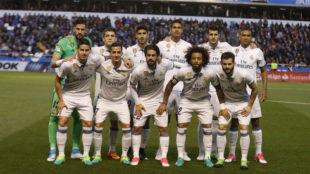 El once de Riazor, uno de los mejores partidos del Madrid en Liga.