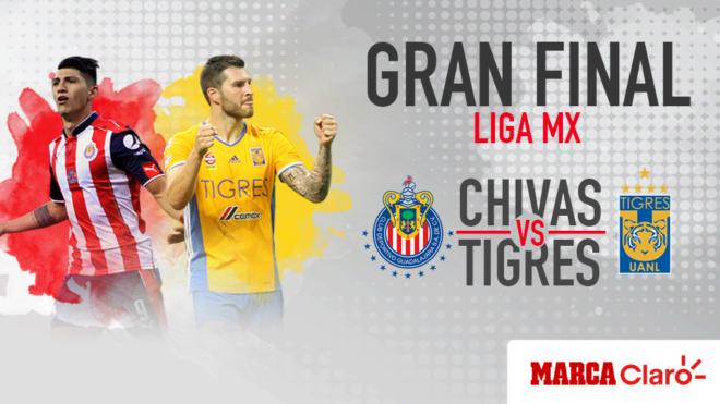 8fb8d319176 Chivas y Tigres se miden en inédita final | MARCA Claro México