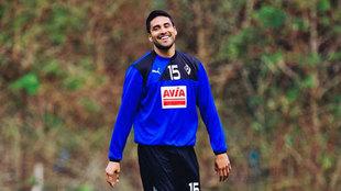Mauro Dos Santos entrenando