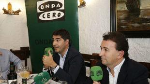 Haro y Catalán, en la tertulia de Onda Cero Sevilla