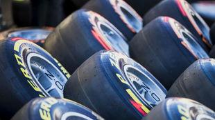 Neumáticos Pirelli en el GP de España de F1