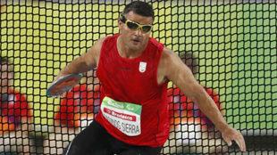 David Casinos en los Juegos Paralímpicos de Río.