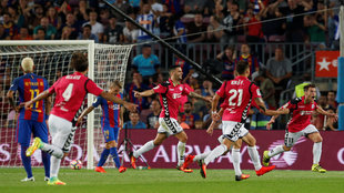 Alaves launch the first shock of the season, winning at the Camp Nou.