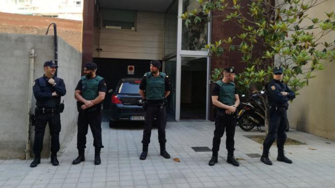 Resultado de imagen de rosell siendo detenido
