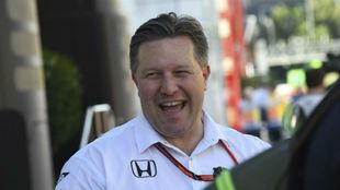 Zak Brown, CEO de McLaren