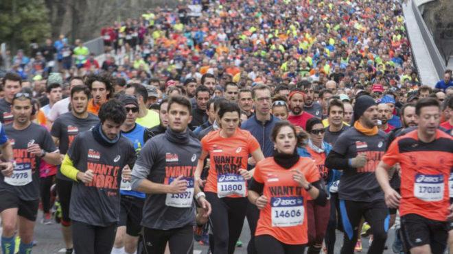 Medio maratón de Madrid 2017