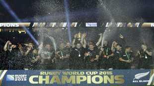 La selección de rugby de Nueva Zelanda toma el relevo de Gómez Noya...