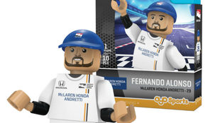 La miniatura de Alonso.