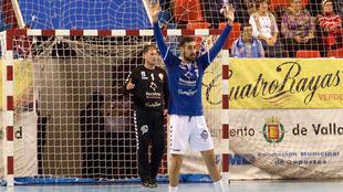Roberto Turrado durante un partido del Recoletas