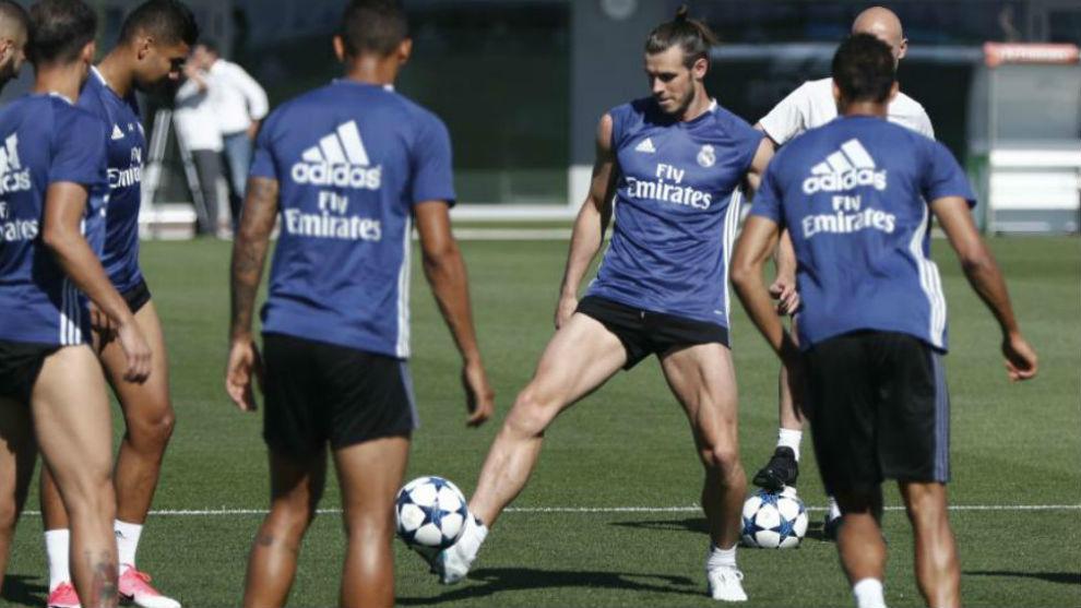 Bale en un entrenamiento