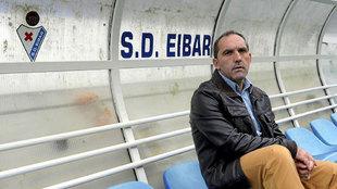 Fran Garagarza, responsable de la parcela deportiva