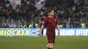 Totti contra la Lazio