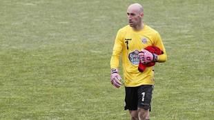 José Juan se retira tras un entrenamiento del Lugo de esta temporada