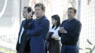De izquierda a derecha: Murthy, Alemany, Layhoon y Alesanco.