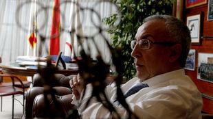 Alejandro Blanco, en su despacho.
