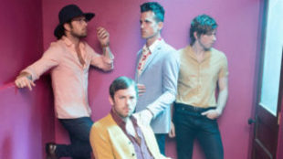 La banda Kings of Leon, cabeza de cartel