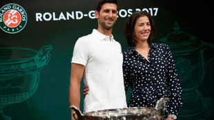 Djokovic y Garbiñe, en el sorteo de emparejamientos