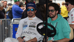 Alonso, en Indy.