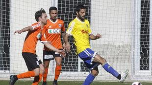 Lausanne y Cádiz durante un amistoso disputado el pasado mes de...