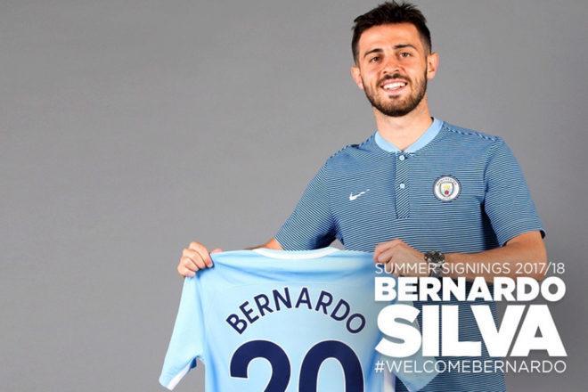 Premier League  El Manchester City ficha a Bernardo Silva  07bfacb54bb1b