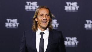 Míchel Salgado durante la gala Best Fifa Player
