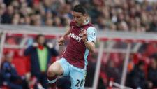Calleri, en acción con el West Ham esta temporada