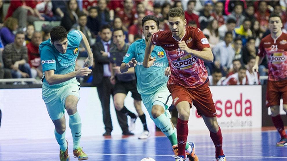 ElPozo Murcia y Movistar Inter golpean primero
