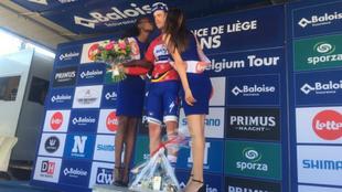 Remy Cavagna en el podio