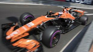 Jenson Button, en la clasificación del GP de Mónaco