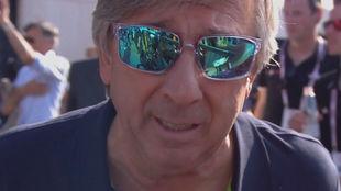Eusebio Unzué en el Giro de Italia.