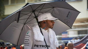 Hamilton, en Mónaco.