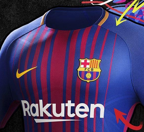 FC Barcelona  Así es la nueva camiseta del Barça para la próxima ... ffbc244d064