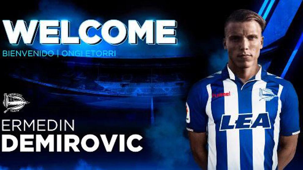 Demirovic, nuevo delantero para el Alavés