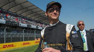 'Guti' durante la carrera de la F�rmula E disputada en...